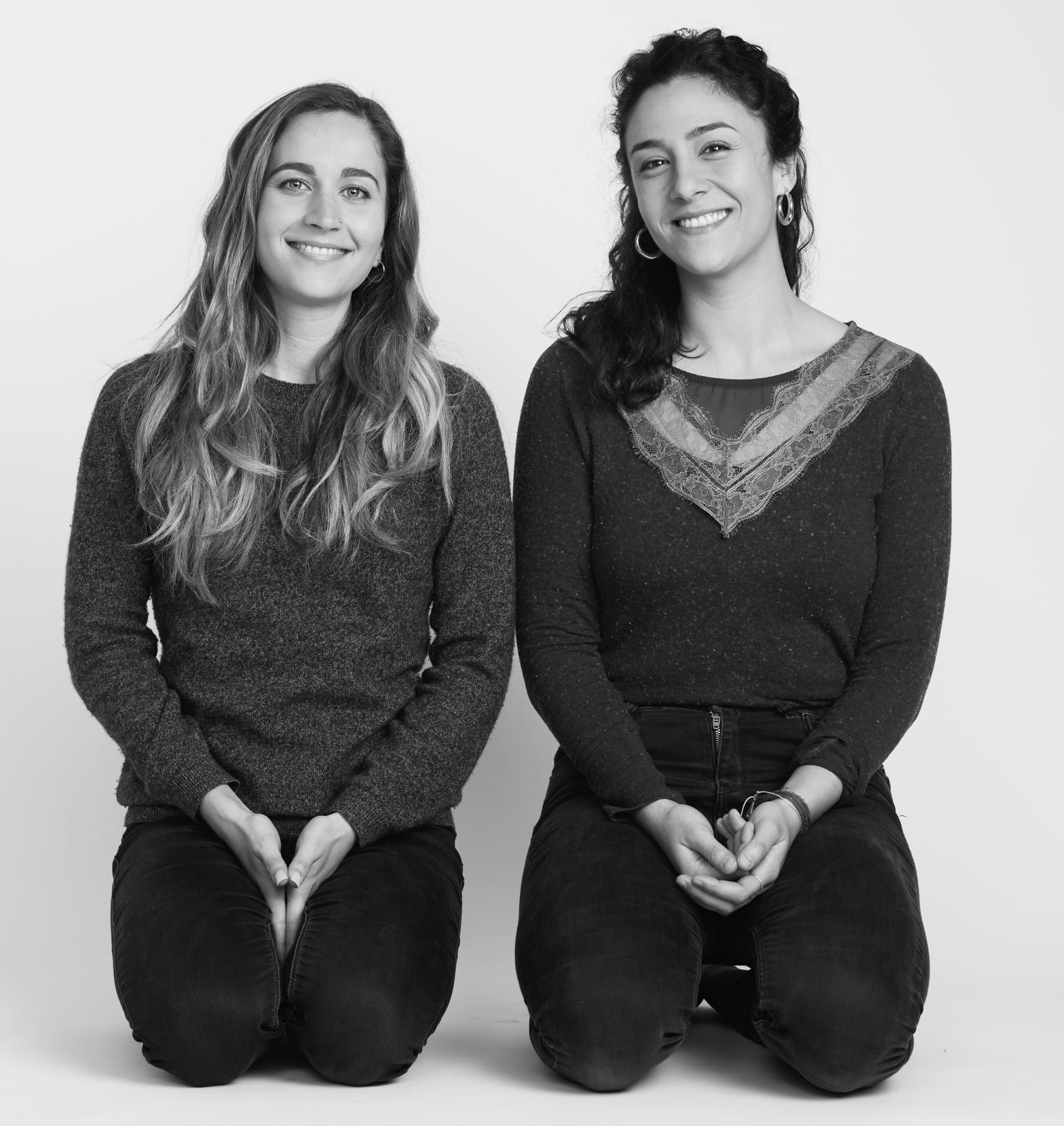Jeanne (à gauche) et Zineb (à droite) © Sebastien Dolidon